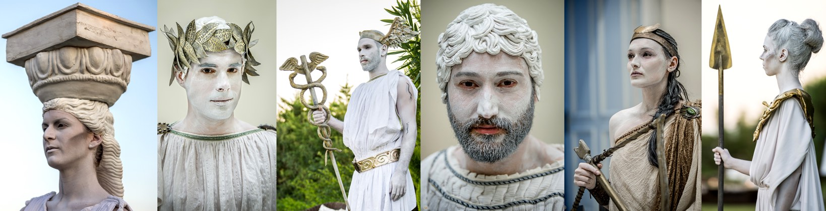Ancient Greek Living Statues