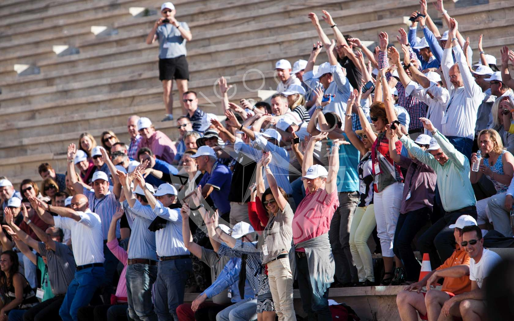"A unique ""Olympic"" activity, in the archaeological site of the Panathenaic stadium!"
